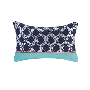 Mix & Match Embroidery Oblong Pillow