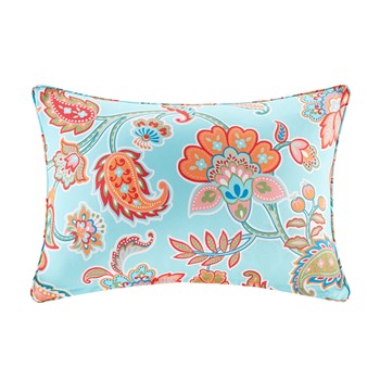 Carillo Printed Floral 3M Scotchgard Outdoor Oblong Pillow