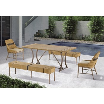 Venice Outdoor Patio Dining Table