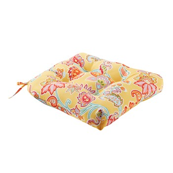 Carillo Printed Floral 3M Scotchgard Outdoor Seat Cushion