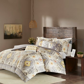 Imani 6 Piece Duvet Cover Set