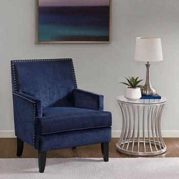 colton track arm club chair - Modern Accent Chairs