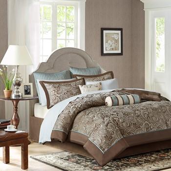 Aubrey 12 Piece Complete Bed Set