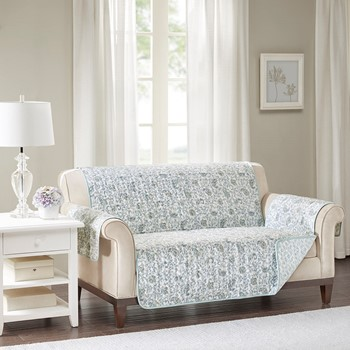 Dawn Cotton Printed Loveseat Protector