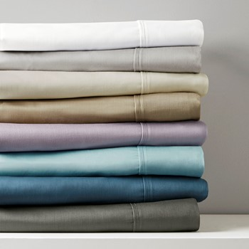 800 Thread Count Cotton Blend Sateen Sheet Set
