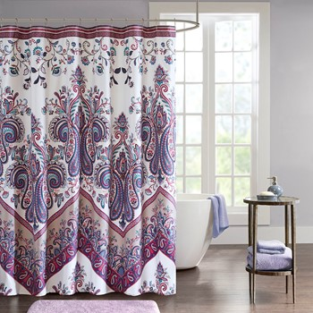 Tulay Printed Shower Curtain