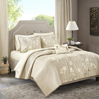 Vaughn Complete Coverlet and Cotton Sheet Set
