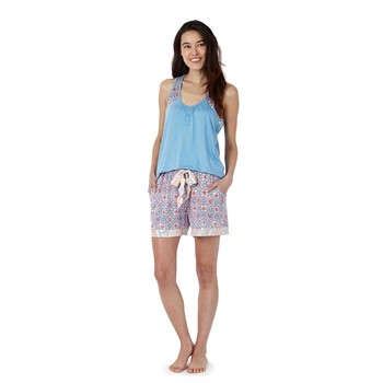 CBL Contrast Pleated Tank