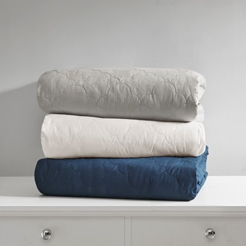 Deluxe Quilted Cotton Weighted Blanket