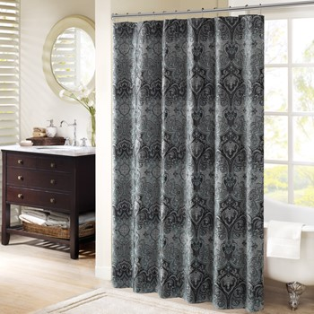 Norton Chenille Shower Curtain