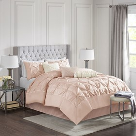 Laurel 7 Piece Tufted Comforter Set