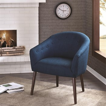 Camilla Barrel Back Accent Chair