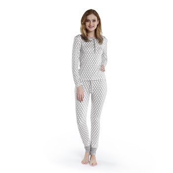 Sidewalk Long Sleeve Pajama Set