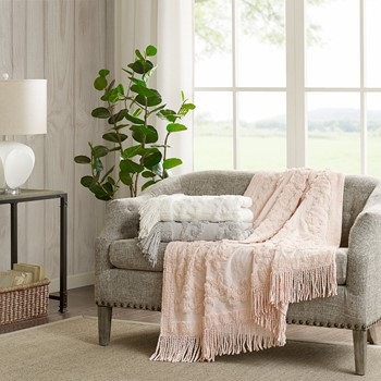 Chloe Cotton Tufted Throw