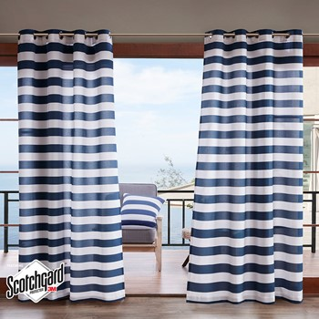 Percee Printed Cabana Stripe 3M Scotchgard Outdoor Panel