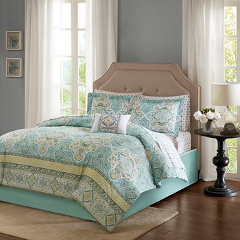 Cara Complete Comforter and Cotton Sheet Set