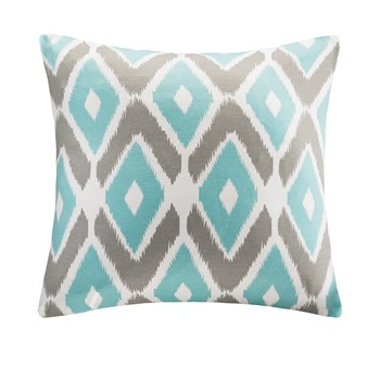 Ashlin Diamond Printed Square Pillow
