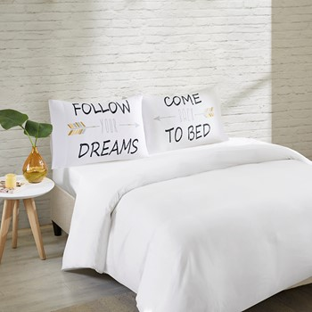 Follow Your Dreams Pillowcases