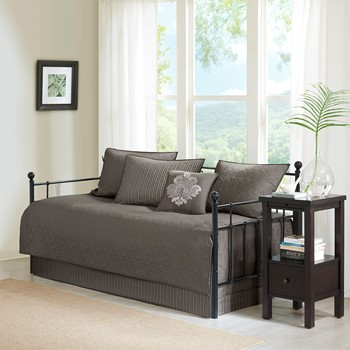 Quebec 6 Piece Reversible Daybed Cover Set