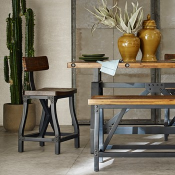 Lancaster Counter Stool with Back