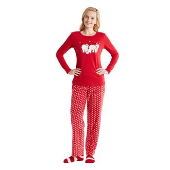 Polar Bear 3 Piece Pajama Set