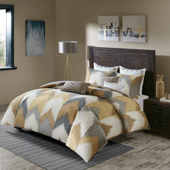 Alpine Cotton Duvet Cover Mini Set
