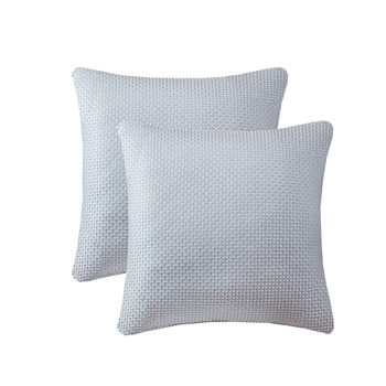 Jhene Texture Jacquard Square Pillow Pair