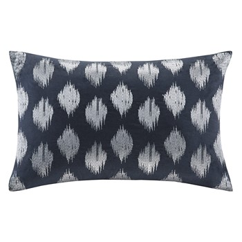 Nadia Dot Embroidered Oblong Pillow