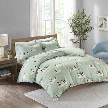 Cozy Flannel Duvet Set