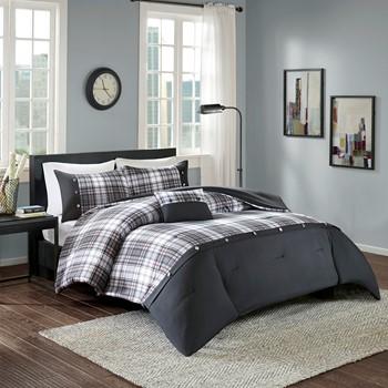 Comfort Spaces Asher Comforter Set (Twin/Twin XL/Queen)