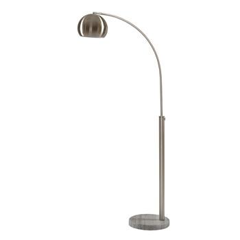 Menlo Nickel Floor Lamp