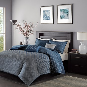 Biloxi 6 Piece Duvet Cover Set