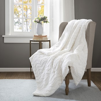 Lumi Faux Fur Down Alternative Throw