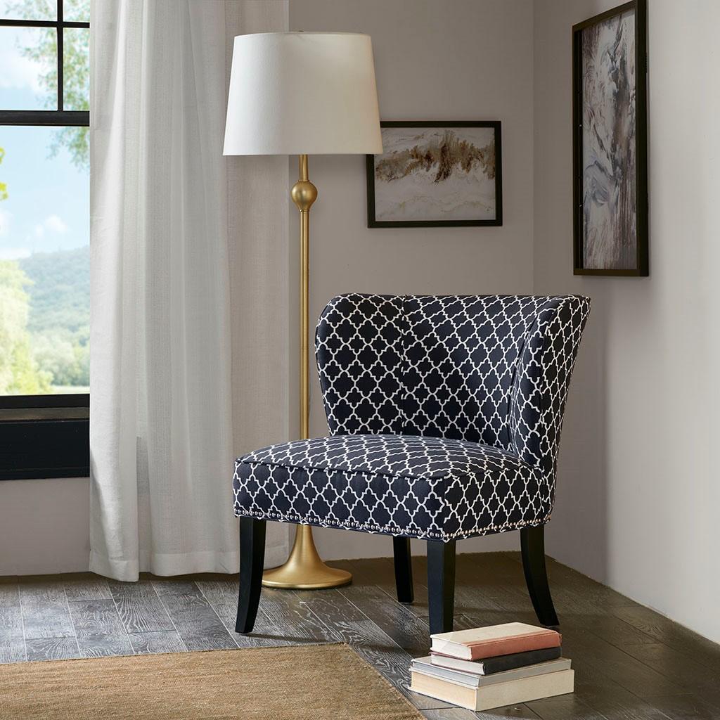 Tremendous Hilton Armless Accent Chair Madison Park Olliix Inzonedesignstudio Interior Chair Design Inzonedesignstudiocom