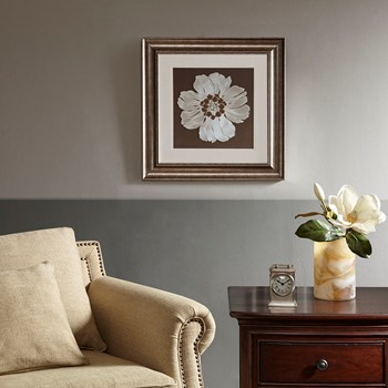 Floral Decorative Embroidery Wall Art Flower