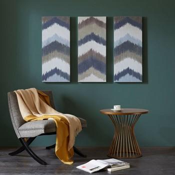 Alpine Gel Coated Canvas Set of 3