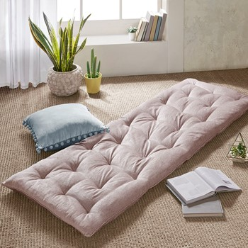 Edelia Poly Chenille Lounge Floor Pillow Cushion