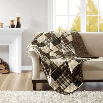 Timber Reversible Oversized Quilted Throw