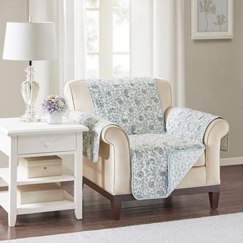 Dawn Cotton Printed Arm Chair Protector