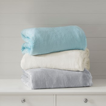 Plush Solid Weighted Blanket