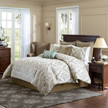 Pierce 8 Piece Comforter Set