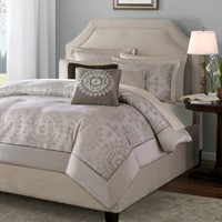 Deals on Madison Park Tiburon 6 Pieces Duvet Cover Set