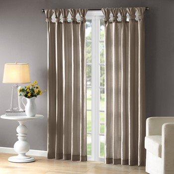 Emilia Twist Tab Window Curtain