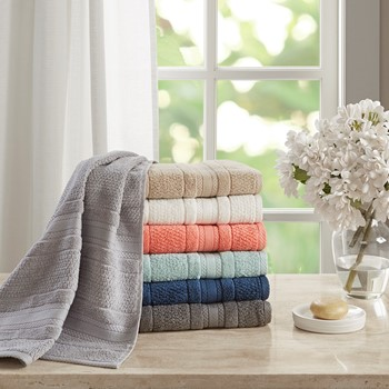 Adrien Super Soft 6 Piece Cotton Towel Set
