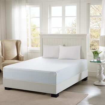 "12"" Gel Memory Foam Mattress with Cooling Cover"