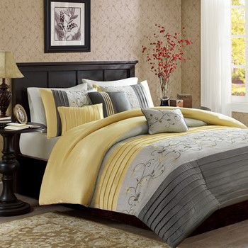 Serene 6 Piece Duvet Cover Set