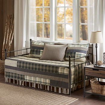 Winter Plains 5 Piece Day Bed Cover Set