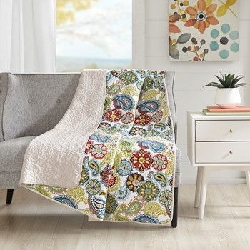 Tamil Quilted Throw