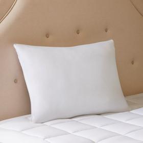 Smart Cool Microfiber Hypoallergenic Coolmax Down Alternative Sleeping Pillow Satin Piping