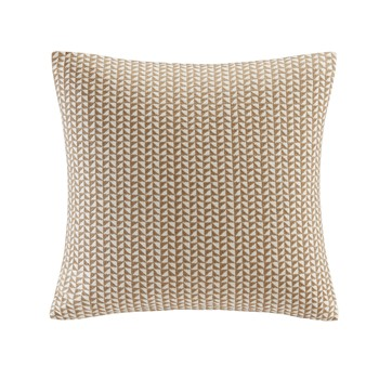 Tait Embroidered Block Decorative Pillow